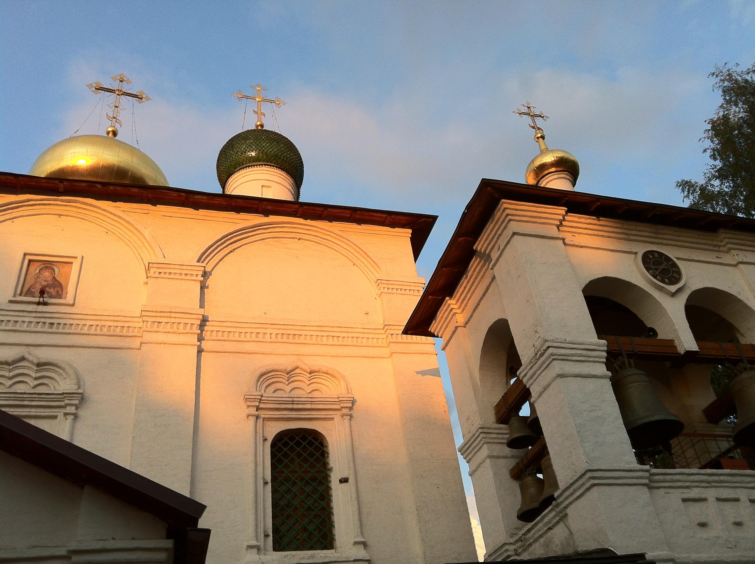 la cathédrale de l'icône Vladimir