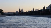 En bateau sur la Moskova